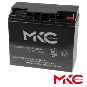 Bateria Chumbo 12V 18A MKC - (WN12-18)