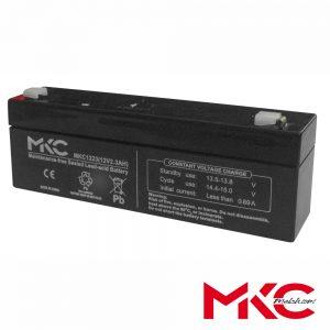 Bateria Chumbo 12V 2.3A MKC - (WN12-2
