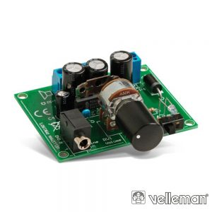 Kit 2x5W Amplificador Para Leitor Mp3 VELLEMAN - (WSAH190)
