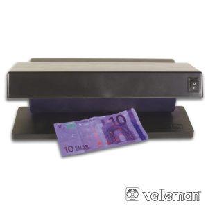 Detetor De Notas 2x 6W Falsas UV - (ZLUV220/2)